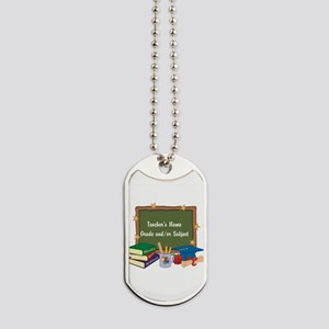 Custom Teacher Dog Tags