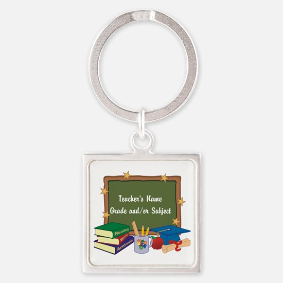 Custom Teacher Keychains
