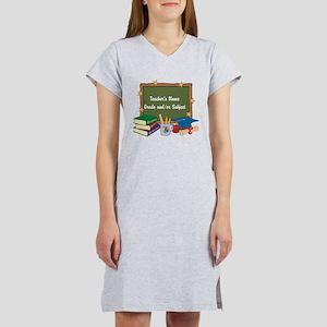 Custom Teacher Women's Nightshirt