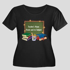 Custom Teacher Plus Size T-Shirt