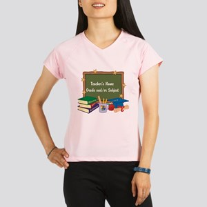 Custom Teacher Performance Dry T-Shirt