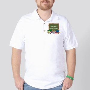 Custom Teacher Golf Shirt