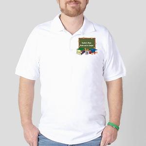 Custom Teacher Golf Shirt