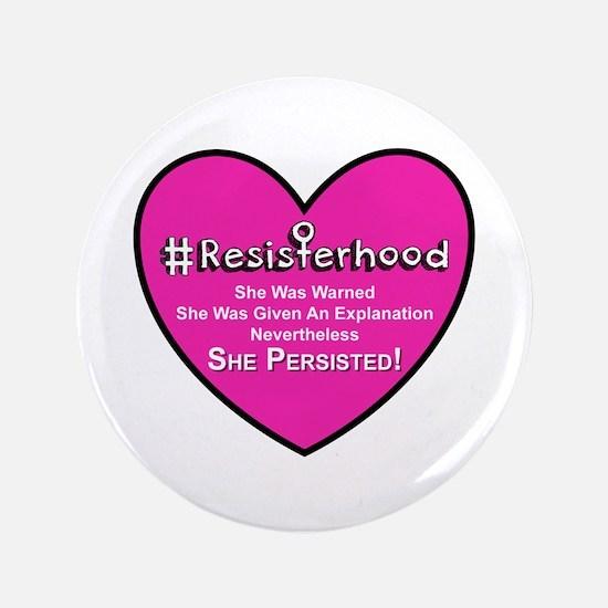 Resisterhood - Heart Button