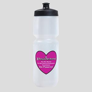Resisterhood - Heart Sports Bottle
