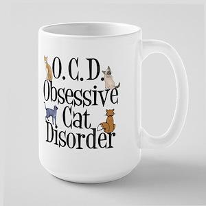Funny Cat Large Mug