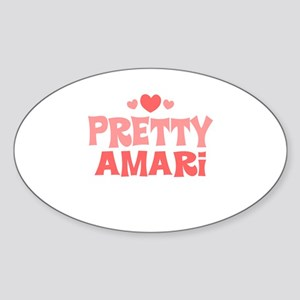 Amari Oval Sticker