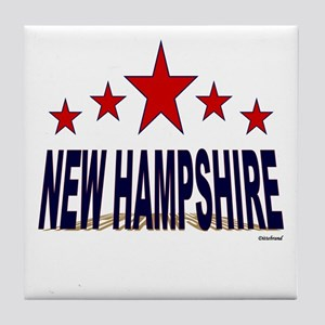 New Hampshire Tile Coaster