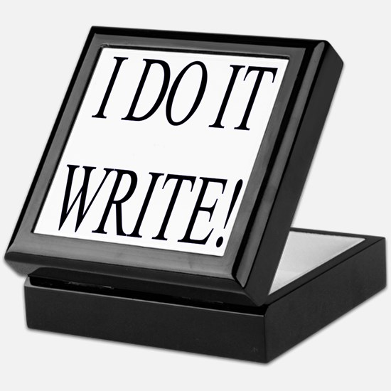 I Do It Write Keepsake Box for Writers