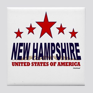 New Hampshire U.S.A. Tile Coaster