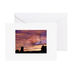 Horse In the Sky Greeting Cards (Pk of 10)
