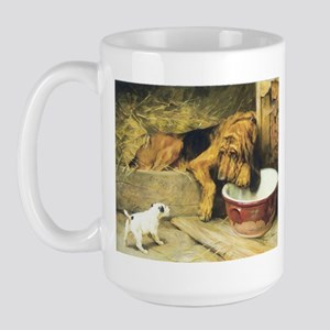 Bloodhound Large Mug