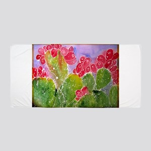 Cactus! Southwest art! Beach Towel