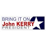 Bring it on: Kerry Sticker
