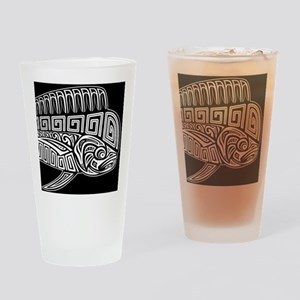 Polynesian Mahi Drinking Glass