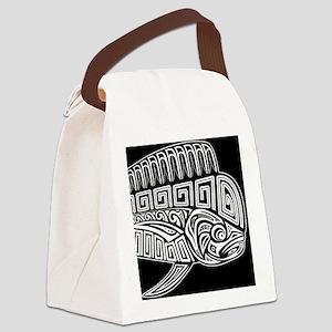 Polynesian Mahi Canvas Lunch Bag