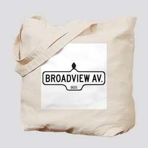 Broadview Av., Toronto - Canada Tote Bag
