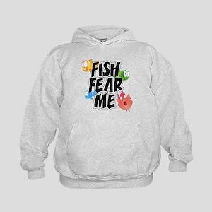 Fish Fear Me Kids Hoodie