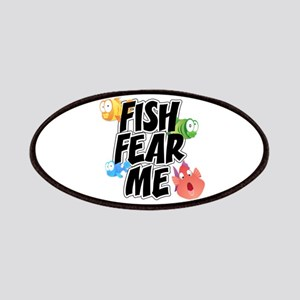 Fish Fear Me Patches