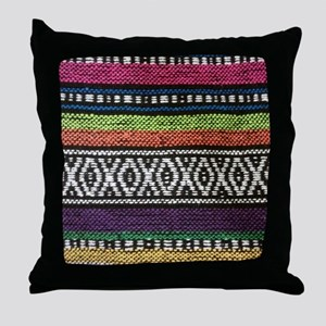 Tribal Native Print Throw Pillow