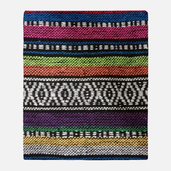 Tribal Native Print Throw Blanket