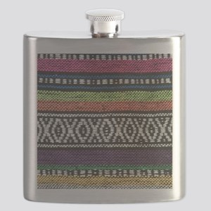 Tribal Native Print Flask