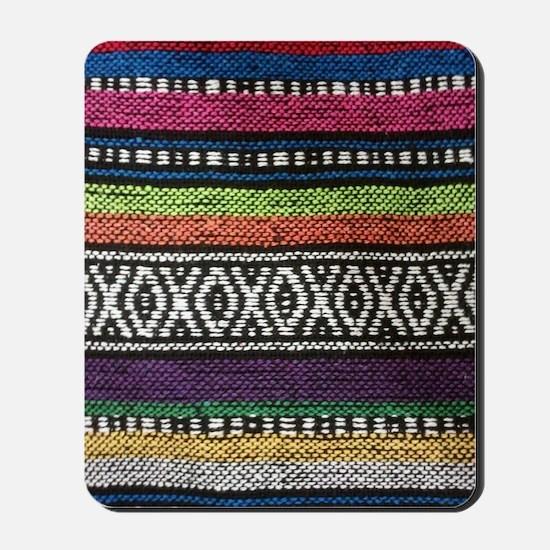 Tribal Native Print Mousepad