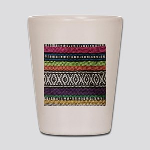 Tribal Native Print Shot Glass