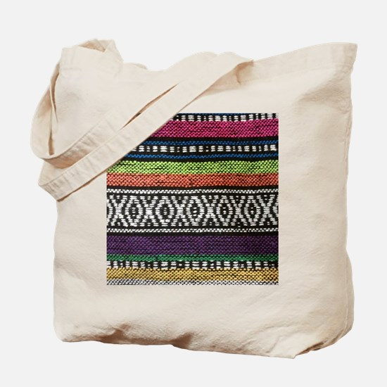 Tribal Native Print Tote Bag