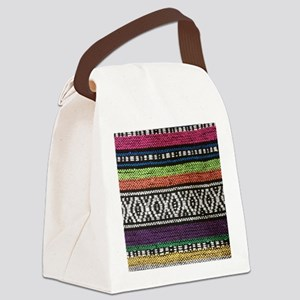 Tribal Native Print Canvas Lunch Bag