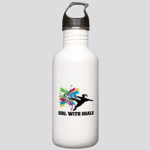 Girl with Goals Stainless Water Bottle 1.0L