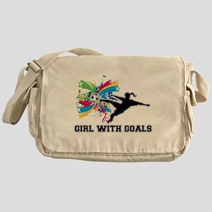 Girl with Goals Messenger Bag