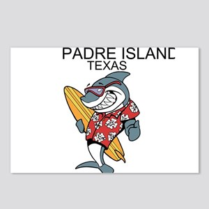Padre Island, Texas Postcards (Package of 8)