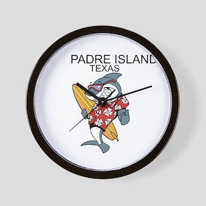 Padre Island, Texas Wall Clock