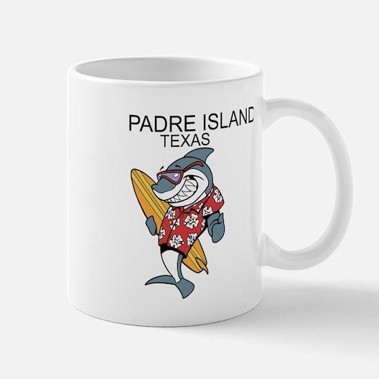Padre Island, Texas Mugs