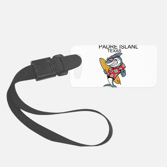 Padre Island, Texas Luggage Tag