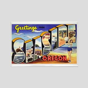 Seaside Oregon Greetings Rectangle Magnet