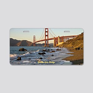 Golden Gate Bridge (labeled Aluminum License Plate