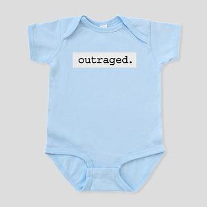 outraged Infant Bodysuit