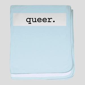 queer.jpg baby blanket