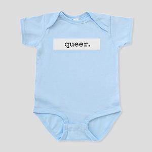 queer Infant Bodysuit
