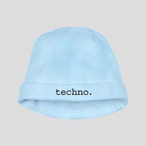 techno baby hat