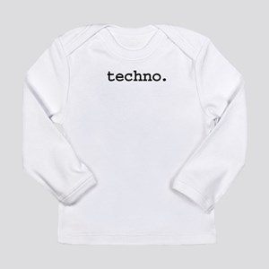 techno Long Sleeve Infant T-Shirt