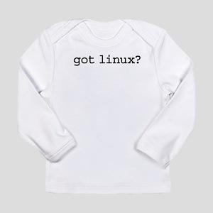 gotlinuxblk Long Sleeve Infant T-Shirt