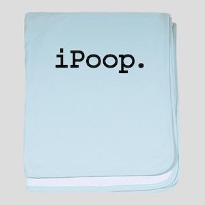 iPoopblk baby blanket