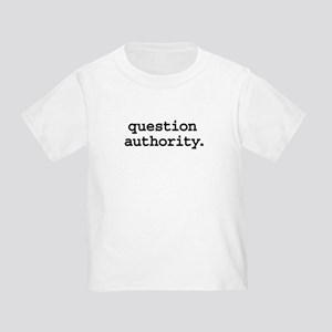 questionauthorityblk Toddler T-Shirt