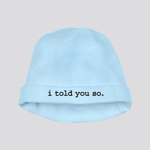 itoldyousoblk baby hat