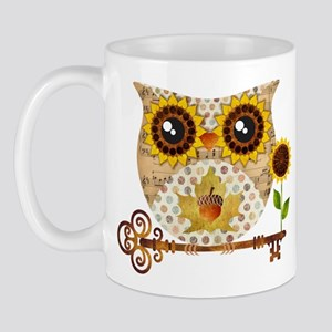 Owls Autumn Song Mugs