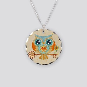 Owls Summer Love Letters Necklace