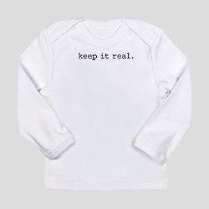 keepitrealblk Long Sleeve Infant T-Shirt